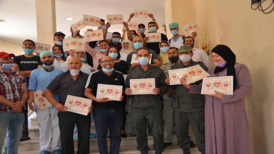 خريبكة ..حملة للتصدق بالدم من تنظيم جمعية النساء الحوامل بوجنيبة