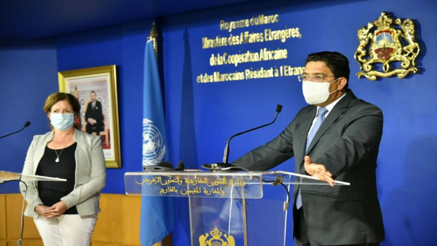 المغرب يدعم ويواكب الجهود الأممية لحل الأزمة الليبية (السيد بوريطة)