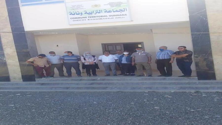 منتخبات ومنتخبي إقليم وزان بمجلس الجهة يواكبون انطلاقة مشاريع تنموية بعدة جماعات قروية