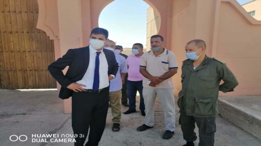 اقليم شيشاوة : عامل الاقليم بوعبيد الكراب يقف على آخر استعدادات للامتحانات الجامعية بمراكز القرب الثلاثة + الصور