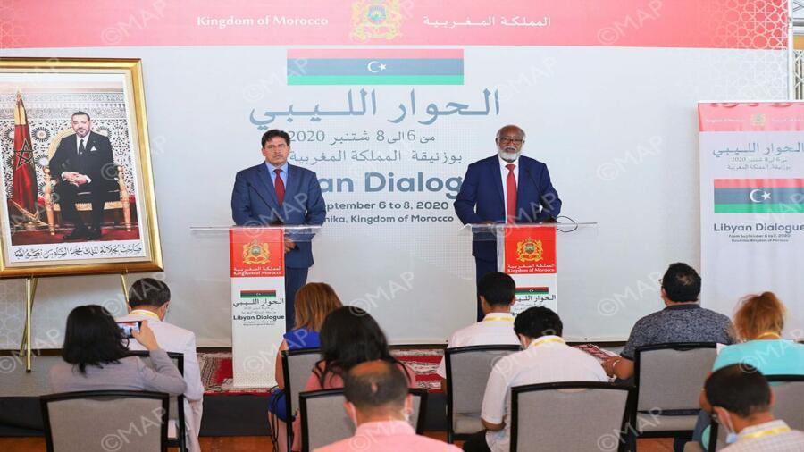"""الحوار بين وفدي المجلس الأعلى للدولة الليبي وبرلمان طبرق حقق """" تفاهمات مهمة """""""