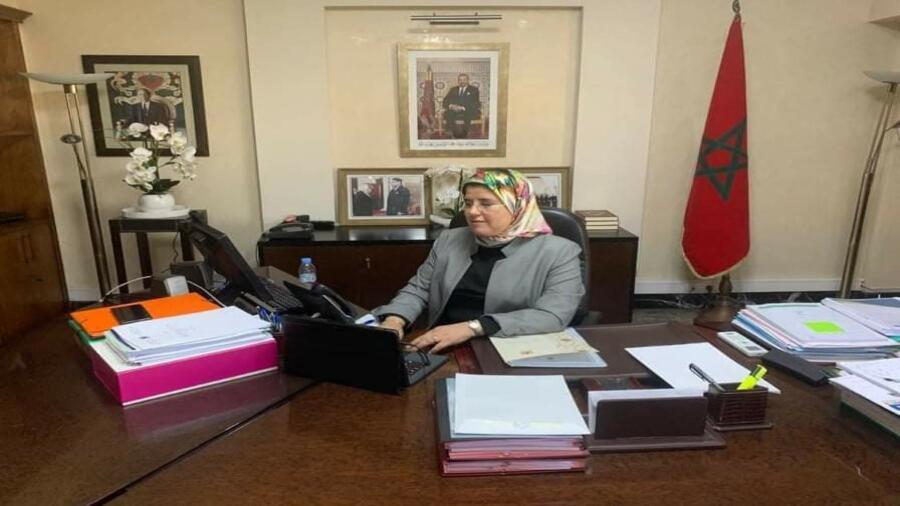 """السيدة المصلي: تفعيل برنامج """"مغرب التمكين""""، سيساهم في المجهود الوطني للحد من آثار جائحة فيروس كورونا خاصة لدى النساء في وضعية صعبة"""