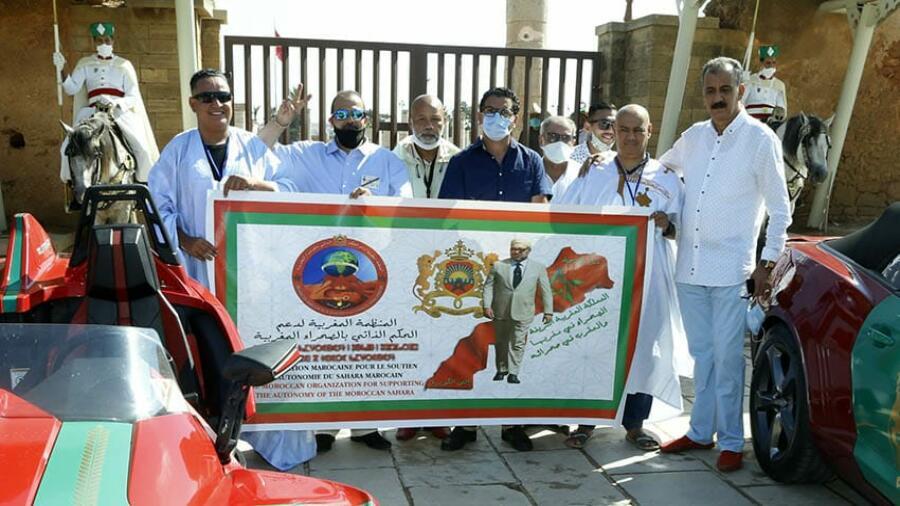 جولة أوروبية بالسيارات ودراجات نارية ثلاثية العجلات، لدعم الحكم الذاتي بالصحراء المغربية.