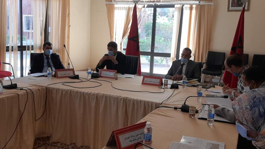 اقليم شيشاوة : بحضور عامل الاقليم بوعبيد الكراب المجلس الاقليمي لشيشاوة يعقد دورته العادية لشهر شتنبر 2020 .