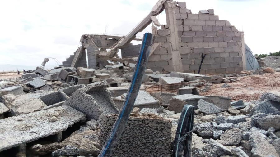 اقليم شيشاوة : بالصور ….قائد قيادة السعيدات يهدم بنايات عشوائية ويشن حملة شرسة لإيقاف النزيف العمراني