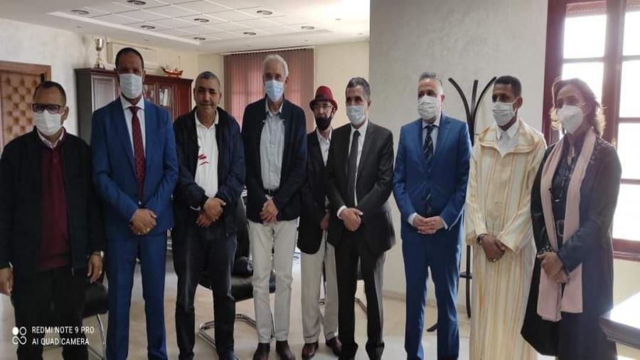—جمعية المذاكرة للتنمية تلتقي بعامل إقليم برشيد ..