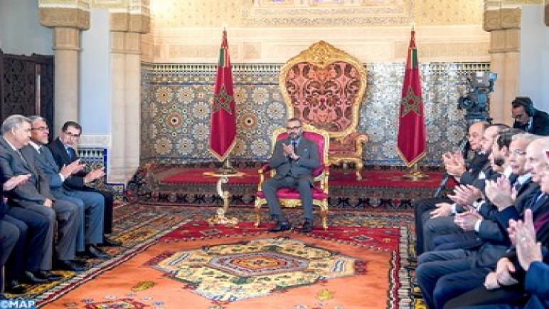 """الملك محمد السادس يترأس حفل تقديم """"البرنامج المندمج لدعم وتمويل المقاولات"""" وتوقيع الاتفاقيات المتعلقة به."""